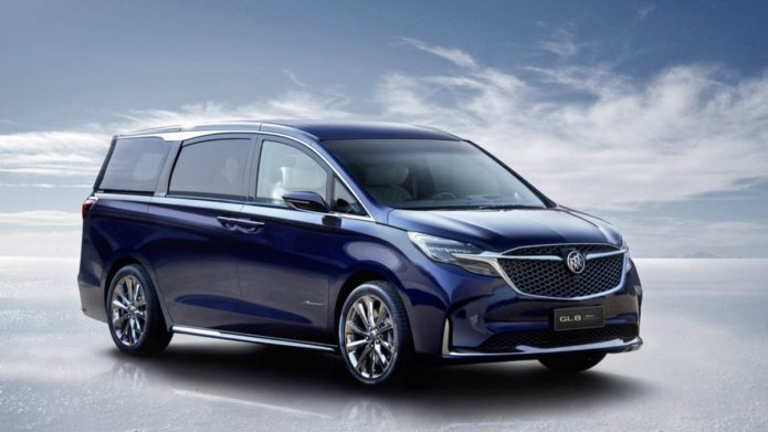 """Thought the Lexus LM Was the Most Luxe Minivan? Buick Just Said """"Not Today"""" with GL8 Concept"""