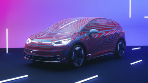The VW ID.3 – Volkwagen's most important car in years – opens up reservations