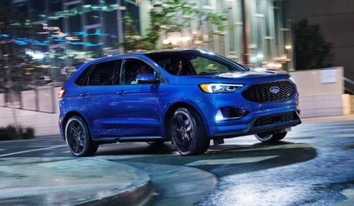2019 Ford Edge ST: Ford Performance Launches Its First Sport Tuned SUV