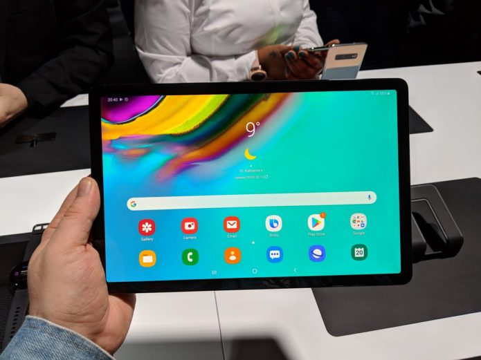The Samsung Galaxy Tab S5e is having WiFi problems