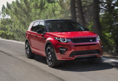 2020 Land Rover Discovery Sport uses cameras to spot off-road obstacles