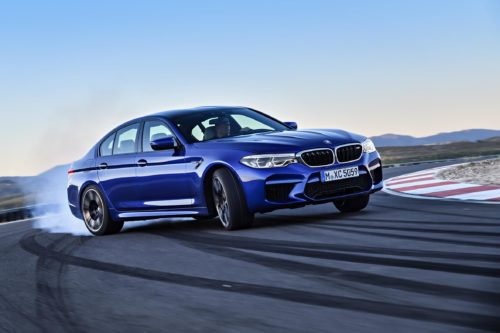 Power Game: BMW Understates Output of the M5 Competition's Twin-Turbo V-8