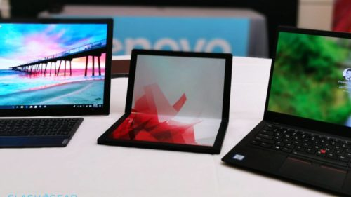Forget the Galaxy Fold and Mate X: Lenovo's Thinkpad is the foldable we want