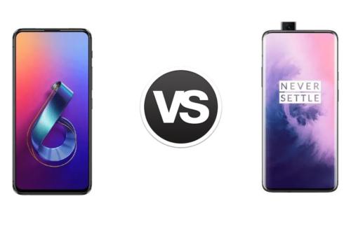 ASUS ZenFone 6 vs OnePlus 7 Pro Specs Comparison