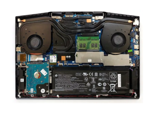 Inside HP Omen 17 (2019) – disassembly and upgrade options