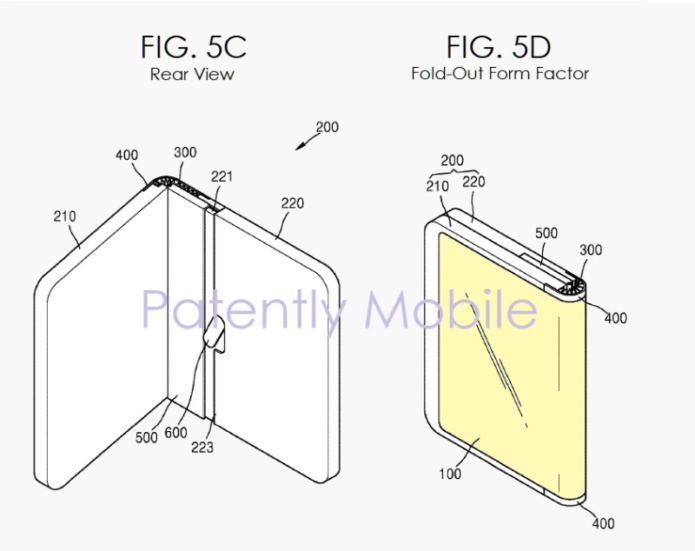 Samsung Patent Hints at Galaxy Fold 2 with Improved Folding Mechanism