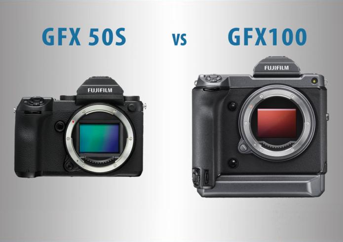 Fujifilm GFX 50S vs GFX100 – The 10 main differences