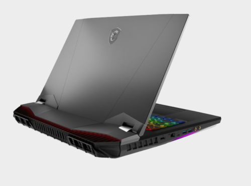 MSI GT76 Titan Gets New Look, Intel Desktop CPU