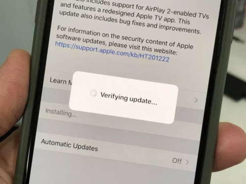 Here's How Long the iOS 12.3.1 Update Takes