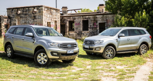 2019 Ford Everest: 2.0-litre v 3.2-litre comparison — Sibling rivalry: Four cylinders versus five