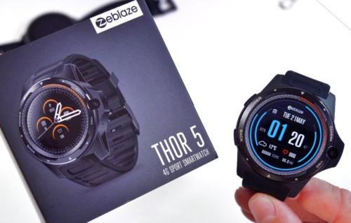 Zeblaze Thor 5 Review: First Smartwatch With Dual Processor