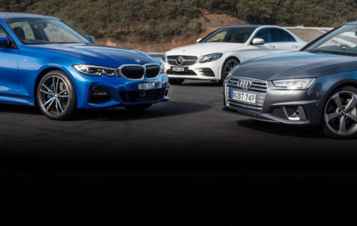 2019 BMW 330i v Audi A4 45 v Mercedes-Benz C300 comparison — Euro showdown: New 3 Series takes on C-Class and A4