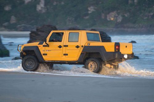 Military-grade dual-cab 4×4 ute for Oz