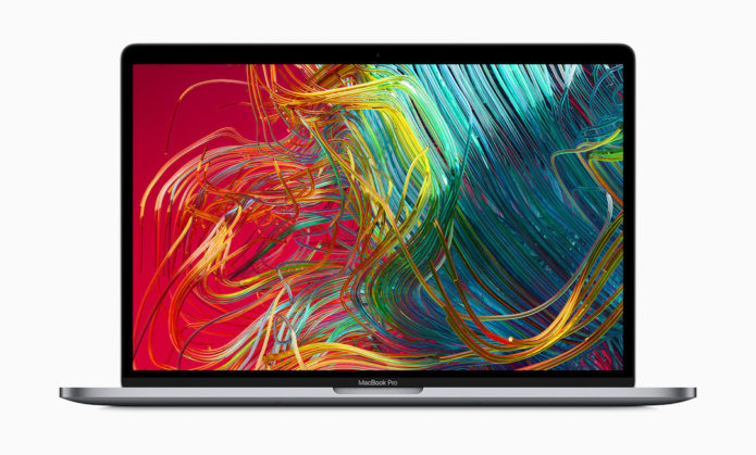 MacBook Pro gets 8-core CPU and keyboard update