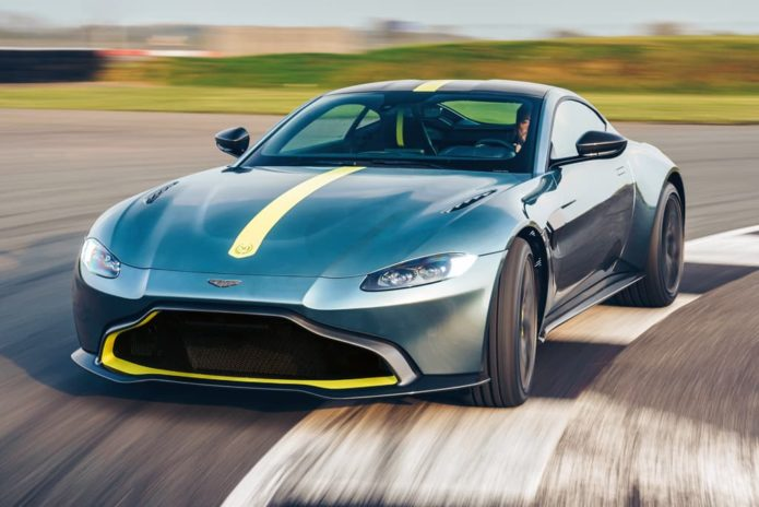 2019 Aston Martin Vantage AMR unleashed