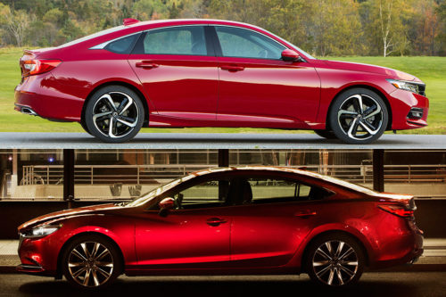 2019 Honda Accord vs. 2019 Mazda6: Which Is Better?