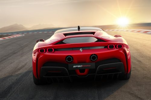 Ferrari plotting sub-2sec hyper-EV