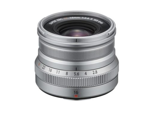 Fujifilm XF 16mm f/2.8 R WR Lens in Silver Coming in May 23rd