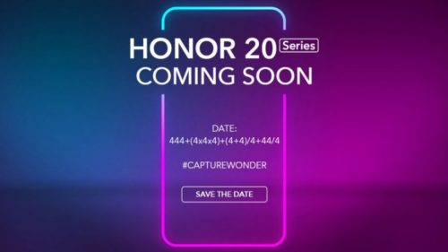 Honor 20 Pro: First image of the OnePlus 7 rival revealed