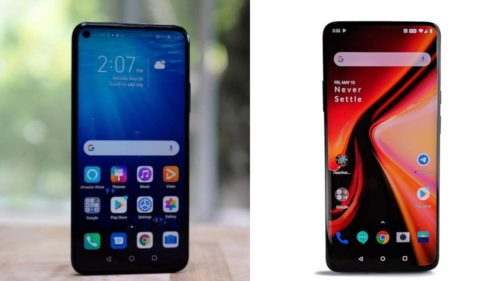 Honor 20 Pro vs OnePlus 7 Pro In-depth Comparison: battle of affordable flagships