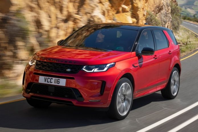 2020 Land Rover Discovery Sport revealed