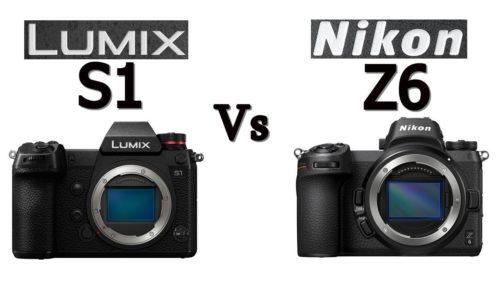 Panasonic Lumix S1 vs Nikon Z6: Entry-level camera comparison