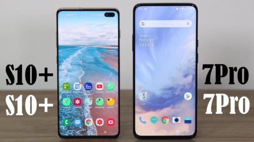 OnePlus 7 Pro vs. Samsung Galaxy S10 Plus: Which Android powerhouse is for you?