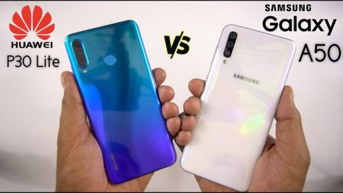 Huawei P30 Lite vs Samsung Galaxy A50: Battle of the Affordable Premium Phones of 2019
