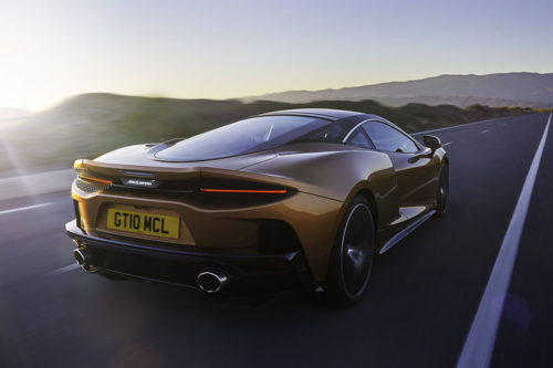The recently revealed McLaren GT is a road trip-ready supercar