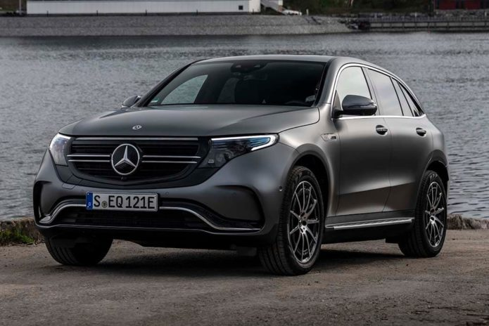 Late 2019 launch for Mercedes-Benz EV