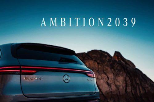 Mercedes-Benz announces carbon-neutral plan