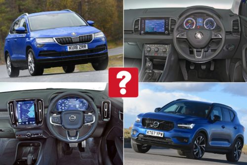 New Skoda Karoq vs used Volvo XC40: which is best?