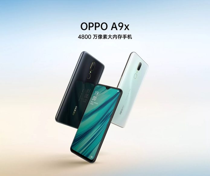 OPPO A9x launches in China