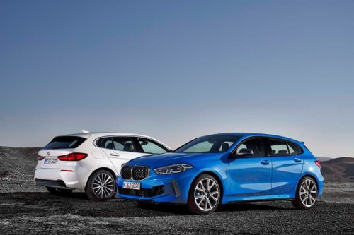 First front-drive BMW hatchback revealed