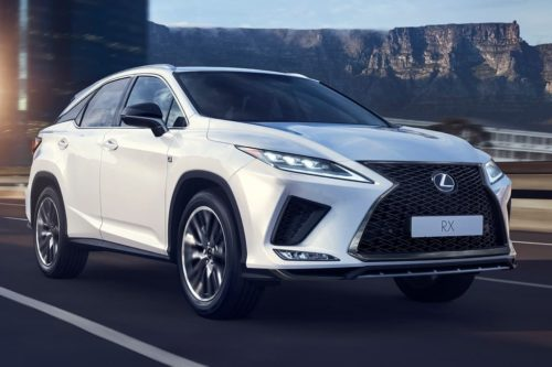 2020 Lexus RX revealed