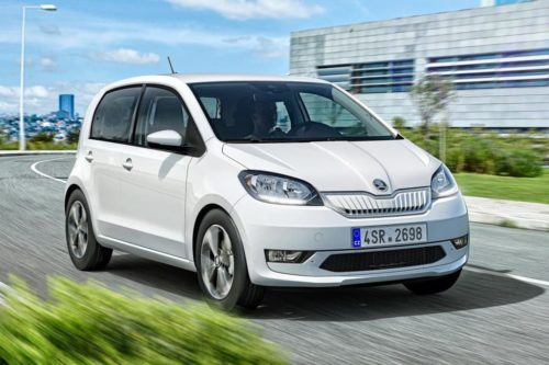 2019 Pure-electric Skoda Citigo e iV makes debut