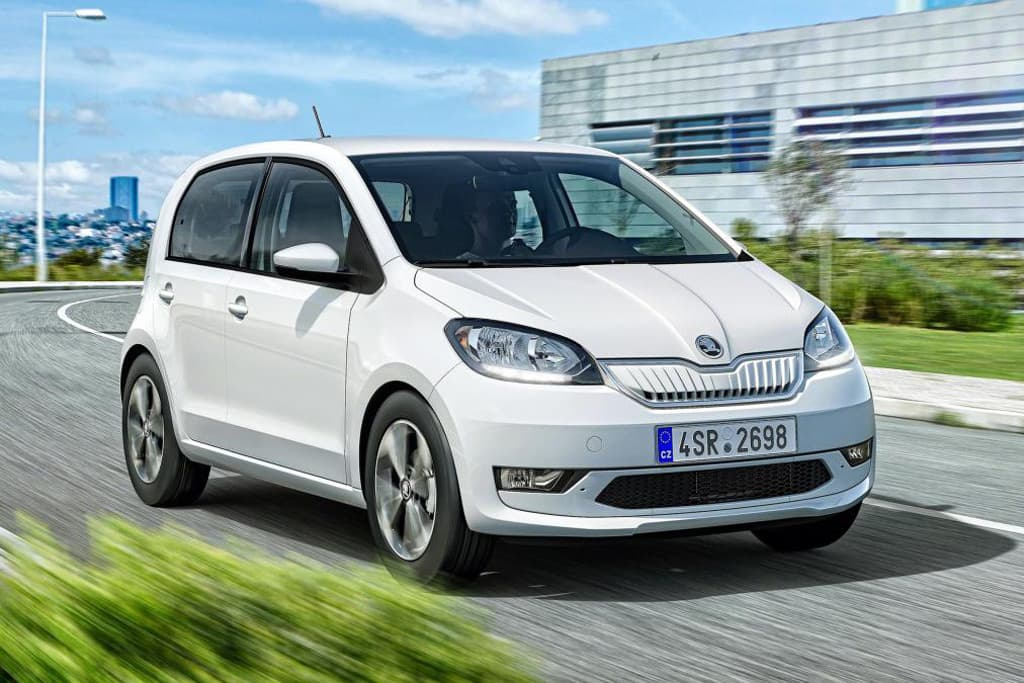 2019 Pure Electric Skoda Citigo E Iv Makes Debut Gearopen