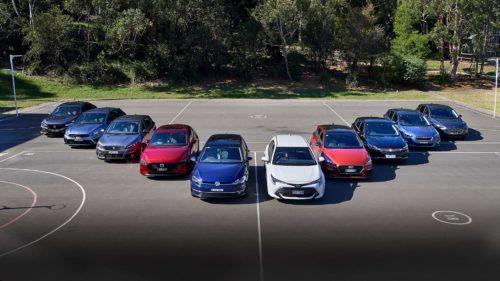 2019 small car comparison : Ford Focus v Holden Astra v Honda Civic v Hyundai i30 v Kia Cerato v Mazda 3 v Peugeot 308 v Subaru Impreza v Toyota Corolla v Volkswagen Golf