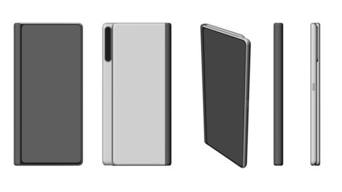 Huawei Mate X back to the drawing board? Second-gen design patent surfaces