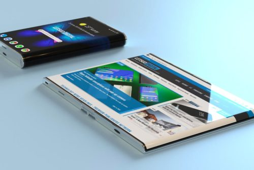Could this be the Samsung Galaxy Fold 2 with an edge-to-edge display?