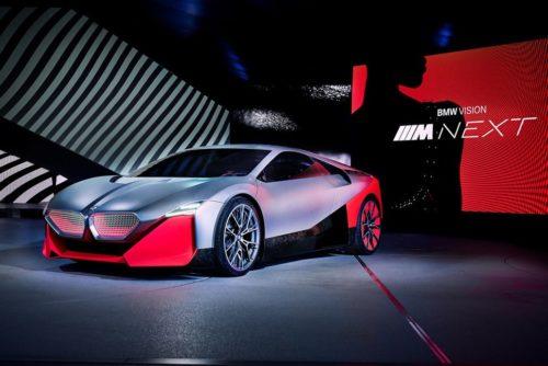 BMW Vision M Next imagines a next-gen i8 replacement