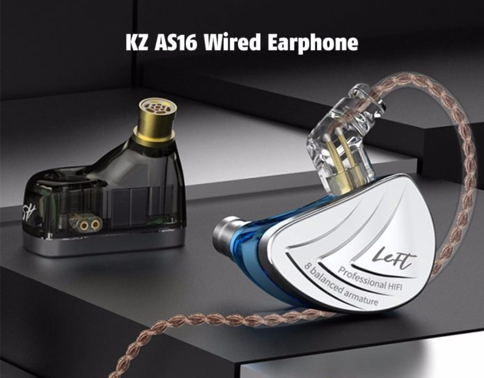 KZ AS16 Wired Headphones Review: Great Sound and Comfort