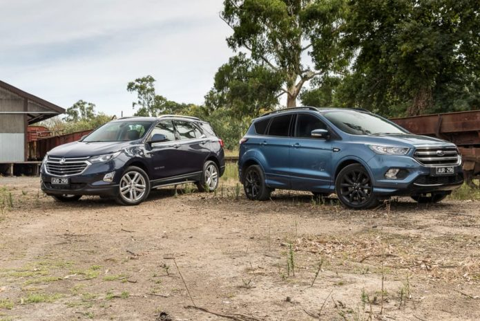 2019 Ford Escape ST-Line v Holden Equinox LTZ Comparison
