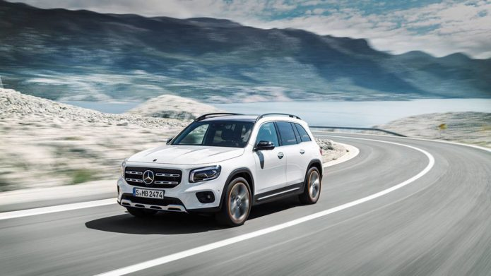 All-new 2020 Mercedes-Benz GLB: 7-seat compact crossover