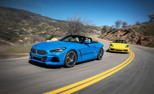 2019 BMW Z4 sDrive30i vs. 2019 Porsche 718 Boxster: Which Makes for a Better Summer?