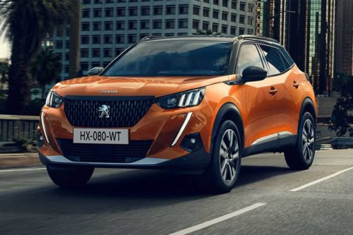 2020 Peugeot 2008 breaks cover