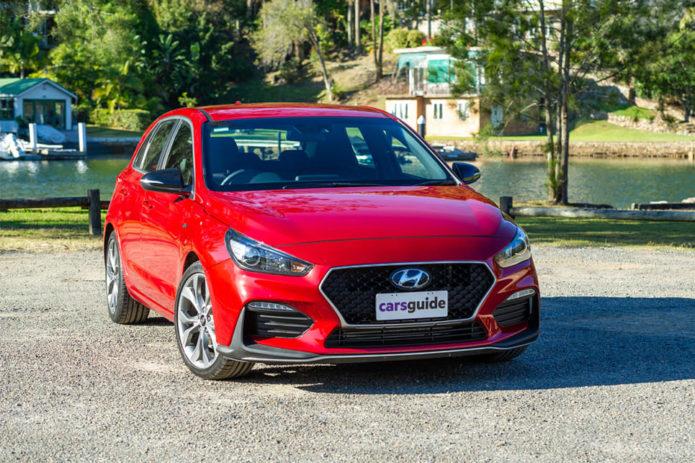 Kia Cerato GT vs Hyundai i30 N-Line vs Ford Focus ST-Line vs Mazda 3 G25 Evolve Comparison review