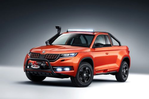 Skoda Mountiaq SUV ute concept makes debut