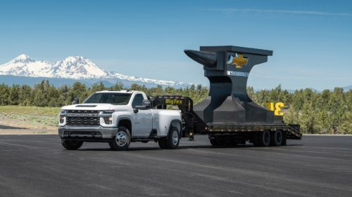 Chevy Claims Its New Silverado 3500 Accelerates Quicker Than the Ram 3500—and Ram Fires Back