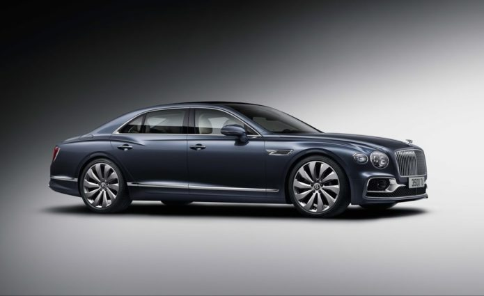 The 2020 Bentley Flying Spur Is New from the Ground Up and Way More Luxurious